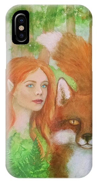 Foxy Faery IPhone Case
