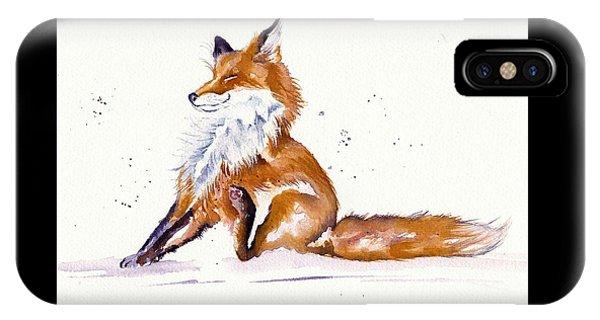 Foxy Flea Magnet IPhone Case