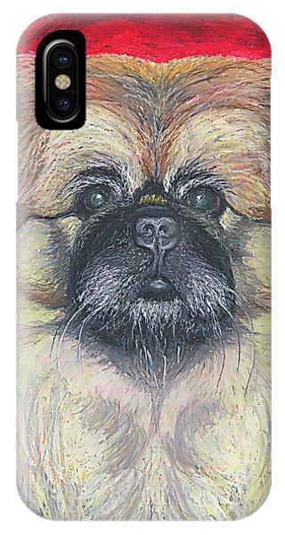 Fozy Bear Pekingese IPhone Case