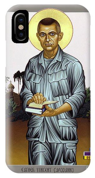 Fr. Vincent Capodanno, The Grunt Padre - Lwvcd     IPhone Case