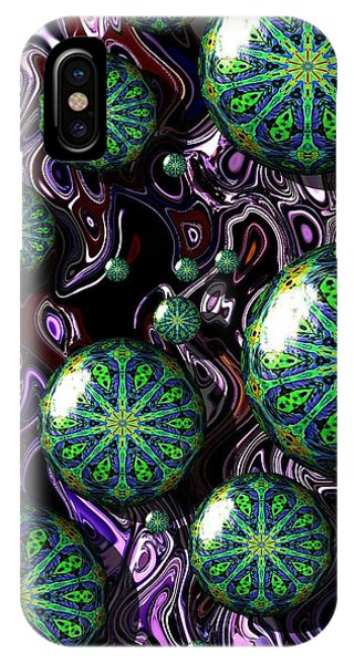 Fractal Abstract 7816.5 IPhone Case