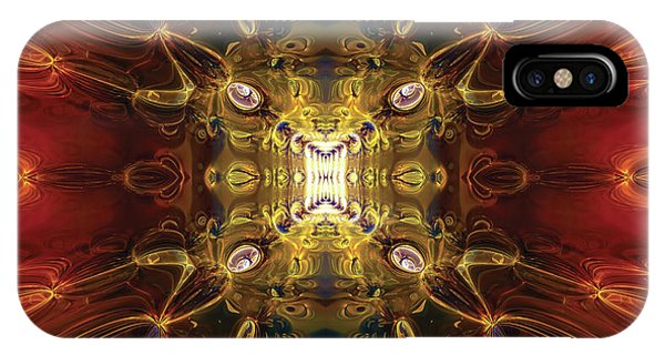 Fractal Abstract No1 IPhone Case