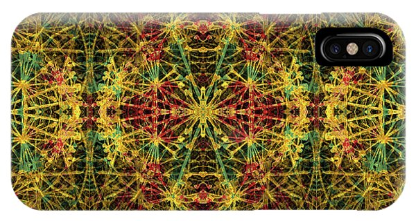 Fractal Anomaly 5 IPhone Case