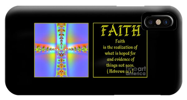 Fractal Faith Hebrews 11 IPhone Case