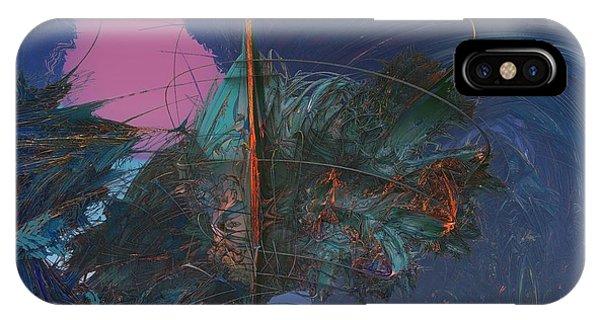 Fractal Sunset IPhone Case