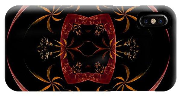 Fractal Symmetry IPhone Case