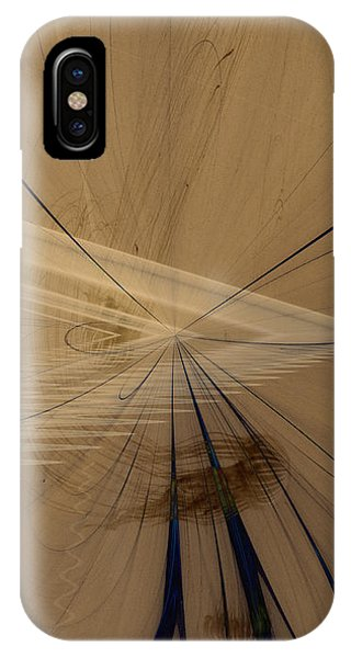 Fractals In Atlantis Center IPhone Case