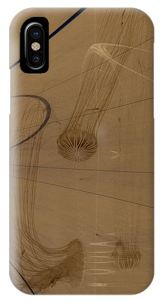Fractals In Atlantis Right IPhone Case
