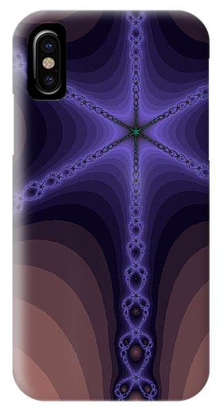 Fractals Yum Beige IPhone Case