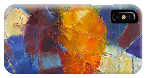 Fractured Orange IPhone Case