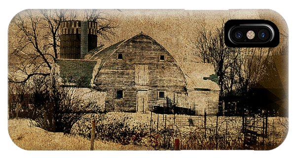 Fragmented Barn  IPhone Case