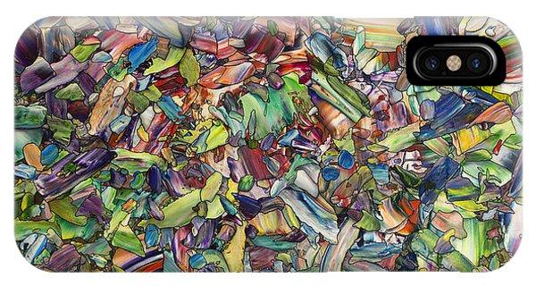 Spirit iPhone Case - Fragmented Spring by James W Johnson