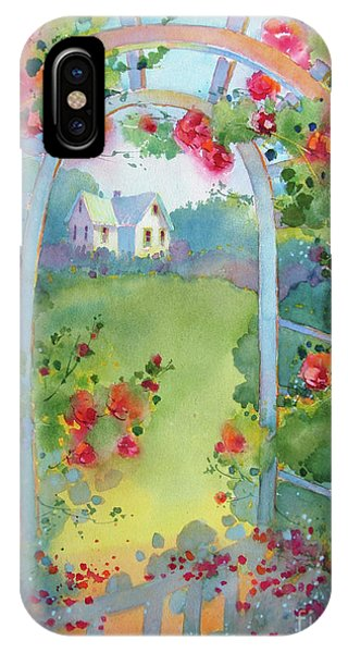 Framed By The Roses IPhone Case