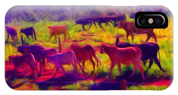 Franca Cattle 1 IPhone Case