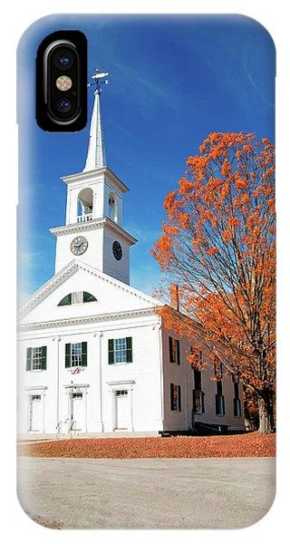 Francestown Meeting IPhone Case