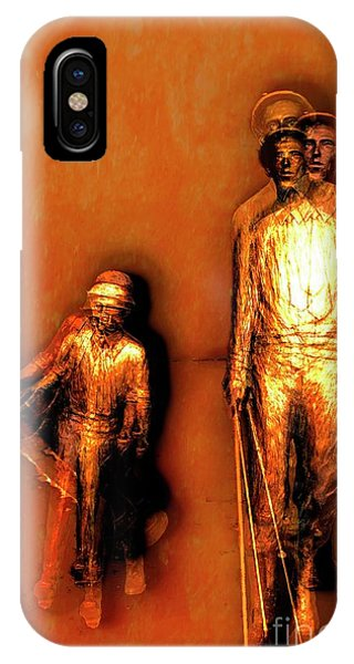 Francis D. Ouimet And Caddy IPhone Case