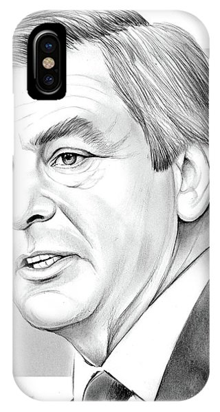 Prime Minister iPhone Case - Francois Fillon by Greg Joens