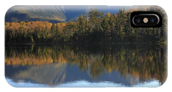 Franconia Ridge From Lonesome Lake IPhone Case