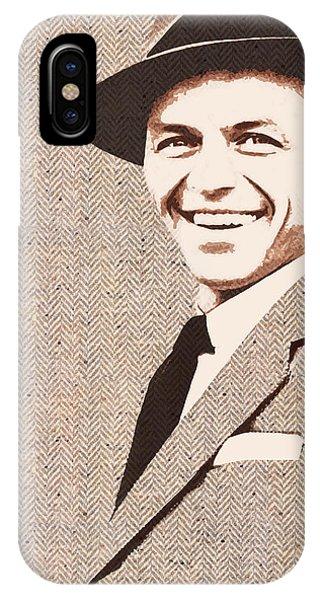 Frank In Tweed IPhone Case