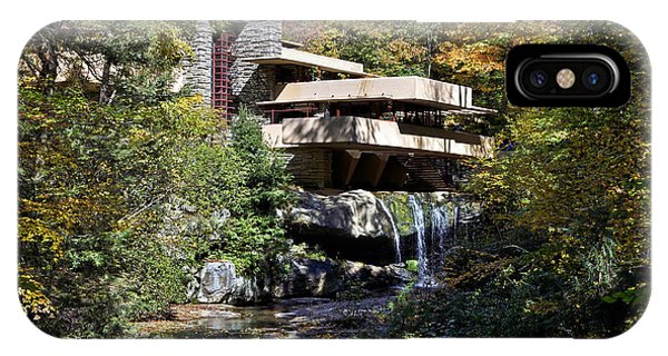 Frank Lloyd Wrights Fallingwater IPhone Case