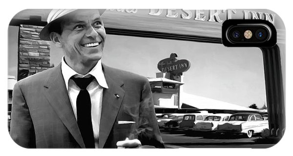 Frank Sinatra In Las Vegas IPhone Case