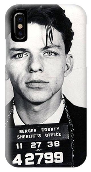 Frank Sinatra Mug Shot Vertical IPhone Case