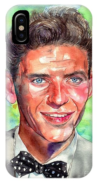 Frank Sinatra iPhone Case - Frank Sinatra Young Painting by Suzann's Art