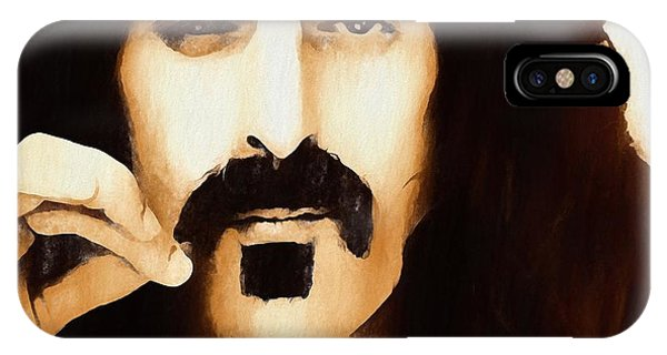 Frank Zappa iPhone Case - Frank Zappa by Dan Sproul