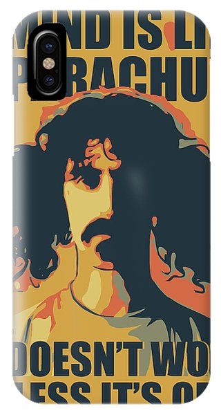 Frank Zappa iPhone Case - Frank Zappa by Greatom London