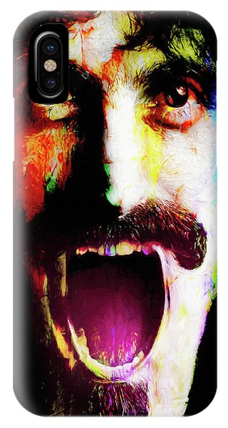 Frank Zappa iPhone Case - Frank Zappa by Mal Bray