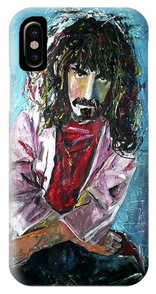 Frank Zappa iPhone Case - Frank Zappa by Marcelo Neira