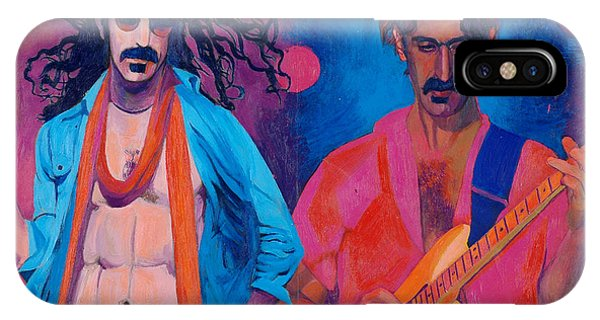 Frank Zappa iPhone Case - Frank Zappa by Martin Cohen