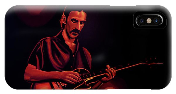 Frank Zappa iPhone Case - Frank Zappa 2 by Paul Meijering
