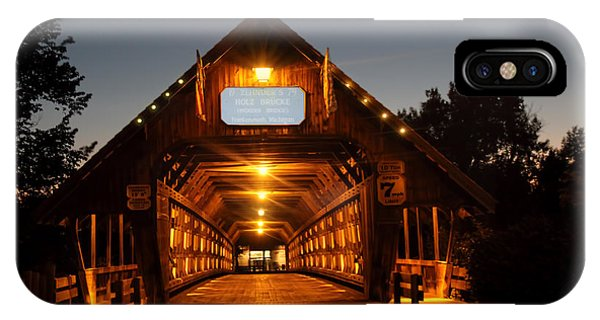 Frankenmuth Covered Bridge IPhone Case