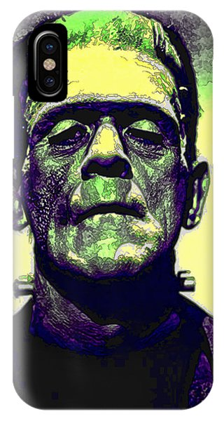 Frankenstein In Color IPhone Case