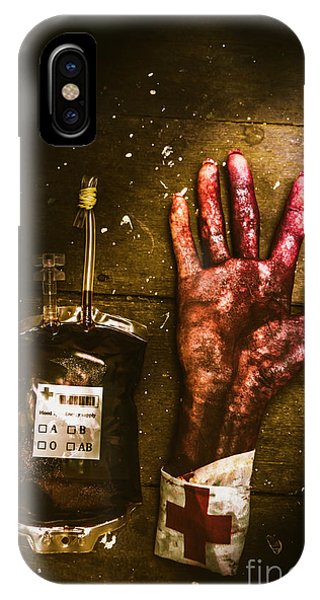 Physical iPhone Case - Frankenstein Transplant Experiment by Jorgo Photography - Wall Art Gallery