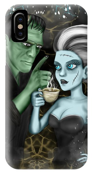 Frankenstien Fantasy Art IPhone Case
