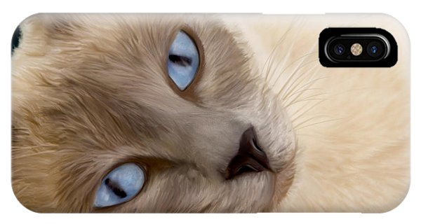 Frankie Blue Eyes IPhone Case
