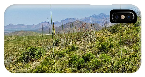 Franklin Mountains State Park Facing North IPhone Case