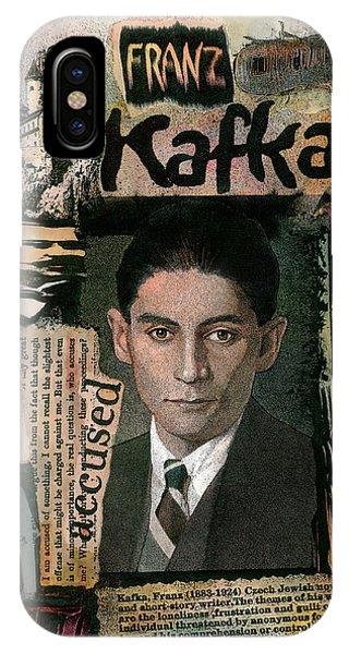 Franz Kafka IPhone Case