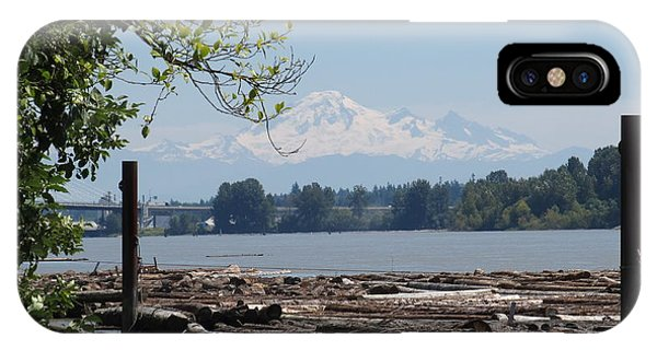 Fraser River And Mount Baker IPhone Case