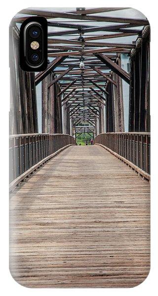 Fraser River Footbridge IPhone Case