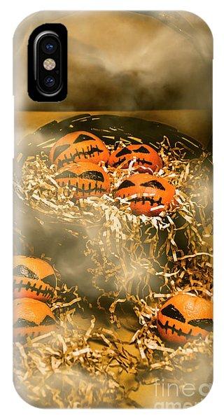 Freaky Halloween Fruits IPhone Case