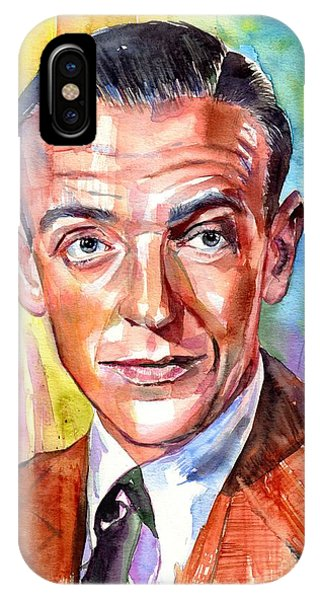 New Jersey iPhone Case - Fred Astaire Painting by Suzann's Art