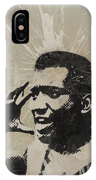 Fred Hampton iPhone X Case - Fred Hampton by Dustin Spagnola