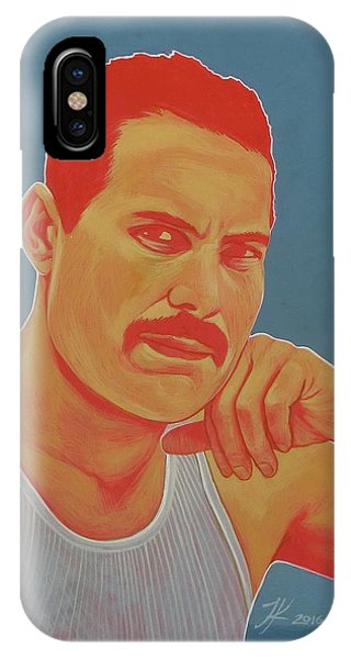 Freddie Mercury Phone Case by Jovana Kolic