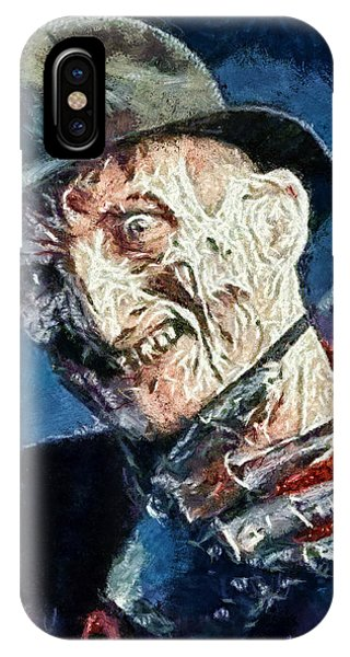 Freddy Kruegar IPhone Case
