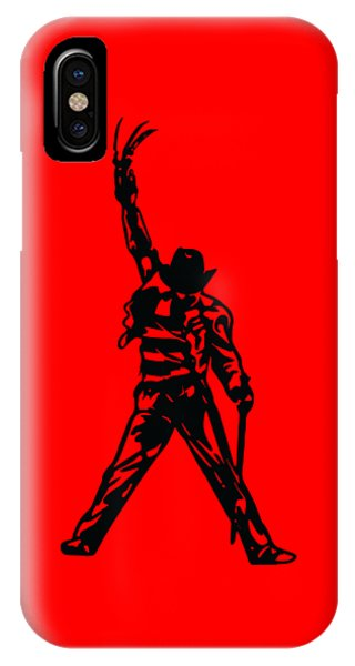 IPhone Case featuring the digital art Freddy Krueger by Christopher Meade