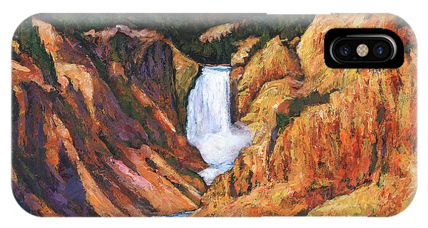 Yellowstone iPhone Case - Free Falling by Johnathan Harris