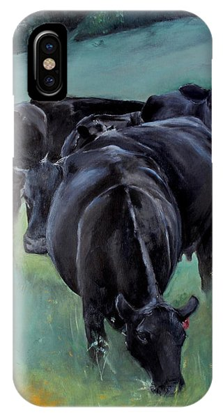 Free Range Cow Girls IPhone Case